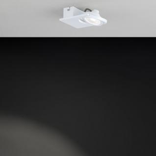 Eglo 39133 Brea 1 LED Wand- & Deckenleuchte 480lm Weiß LED Deckenspot