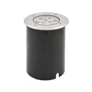 Konstsmide 7921-310 High Power LED Bodeneinbaustrahler klares Glas