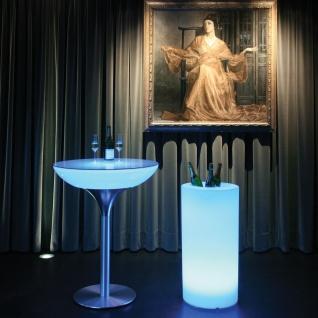 Moree Cooler 80 LED Standobjekt für Flaschen mit Akku IP54 Sektkühler Weinkühler