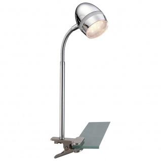 Globo 56206-1K Manjola Klemmstrahler Chrom LED