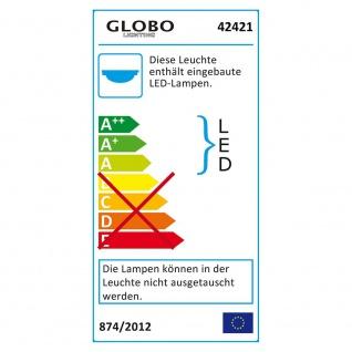 Globo 42421 Spooky Unterbauleuchte Wandleuchte Silber 3xLED - Vorschau 2
