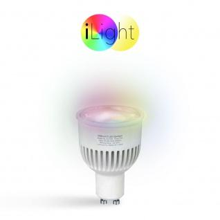 s.LUCE iLight GU10 LED COB 6W RGB + CCT LED-Lampe Farbwechsel & Dual White
