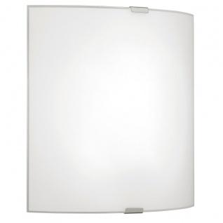 Eglo 94598 Grafik LED Wand & Deckenleuchte 82 W Stahl Weiss Chrom Glas Weiss
