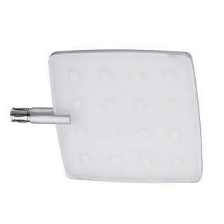 Paulmann Living CombiSystems NanoLED Spot Pad 5W LED Alu-Gebürstet Alu Acryl 70220