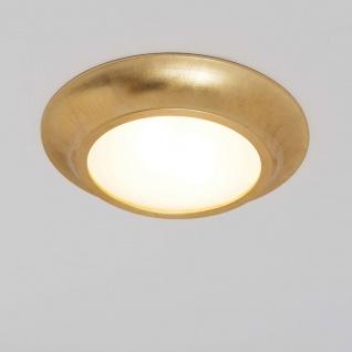 Holländer 085 1603 Deckenleuchte 2-flammig Spettacolo Keramik Gold