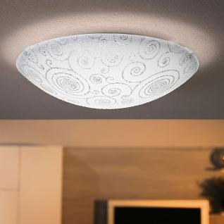 Eglo 93536 Riconto LED Wand- & Deckenleuchte Ø 39, 5cm Weiß Klar