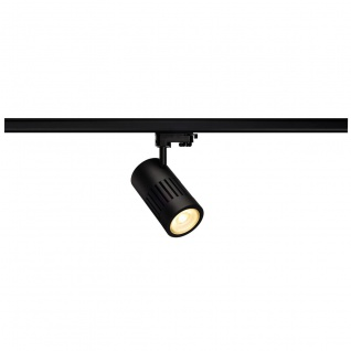 SLV Structec LED 30W rund Schwarz rich Color 60° inkl. 3P.-Adapter 176090