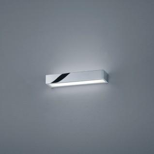 Helestra LED Spiegellampe Theia Lichtboard 30cm IP44 Chrom Glas Wandlampe LED
