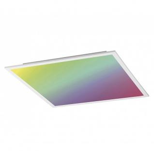 Licht-Trend Q-Flat 62 x 62cm LED Deckenleuchte RGBW + Fb. Weiß Deckenlampe