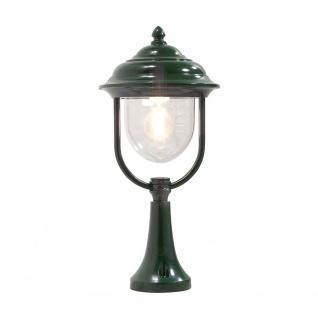 Konstsmide 7224-600 Parma Sockelleuchte Grün klares Acrylglas