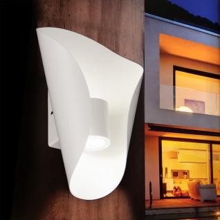Licht-Trend Faglia LED Außen-Wandleuchte 360lm weiß Wandlampe Außen