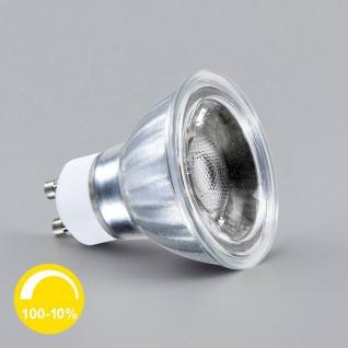 GU10 Power COB LED Dimmbar Kaltweiss 38° 560lm 7W LED Leuchtmittel Spot