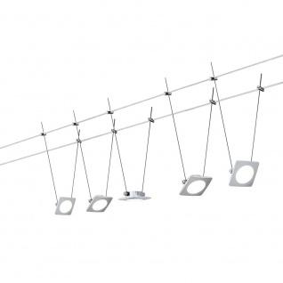 Paulmann Wire Systems DC Set QuadLED 5x4W 12V DC 30VA 94111