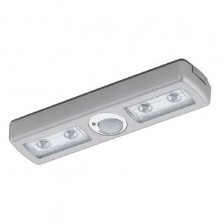 Eglo 94686 Baliola LED Wandleuchte 4 LED Kunststoff Silber