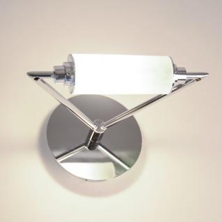 Tri Wandleuchte mit satiniertem Glaselement Wandlampe