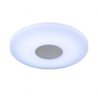 Wofi Dimmbare LED Deckenleuchte VIEW mit Fernbedienung 2000lm Weiss 906601065340 - Vorschau 3
