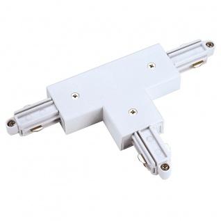 SLV T-Verbinder für 1-Phasen HV-Stromschiene Aufbauversion weiss Erde Rechts 143081