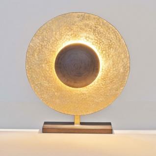 Holländer 300 K 12239 Tischleuchte 3-flammig Villino Eisen Braun-Schwarz-Gold
