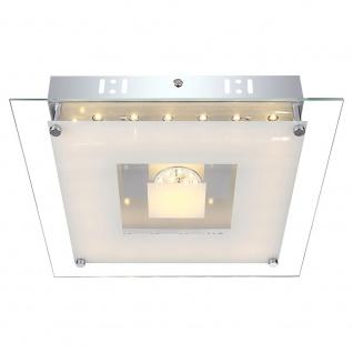 Globo 49207-18 Franco Deckenleuchte Metall Weiß Chrom LED