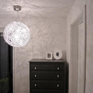 s.LUCE Mesh LED Drahtkugel Ø 50 cm / Pendellampe Hängeleuchte Kugelleuchte - Vorschau 3