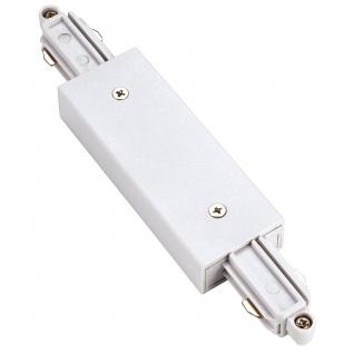 SLV Längsverbinder für 1-Phasen HV-Stromschiene weiss mit Einspeisemöglichkeit 143101
