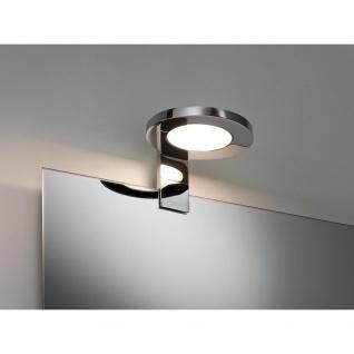 Paulmann Galeria Spiegel- und Aufschrankleuchte LED Ring 3, 2W Chrom 99086