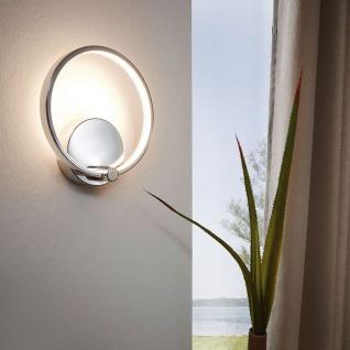 Licht-Trend Circuit filigrane LED Wandleuchte 510lm Chrom LED Wandlampe