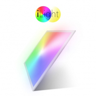 s.LUCE LED-Einlegepanel iLight 59, 5x59, 5cm 2800lm RGB CCT LED-Panel