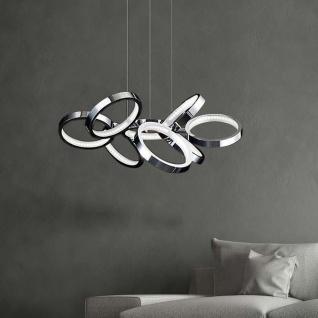 Nova Luce Creazione Design Hängeleuchte mit LED Ringen 29W 3000K Hängelampe