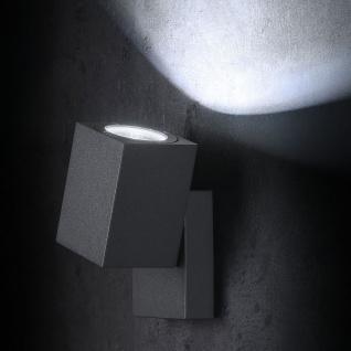 Licht-Trend Movimento LED Aussen-Wandspot 10cm 530lm Anthrazit