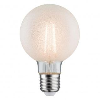 Paulmann LED Retro-Globe 80 6W E27 Eiskristall Warmweiß dimmbar 28485