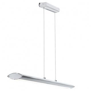 Pellaro Design LED Hängeleuchte chrom 30W Hängelampe