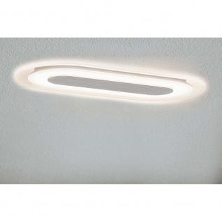 Premium EBL Set Whirl oval LED 1x8W 230V 115x230mm Alu gedreht/Sat Alu/Acryl