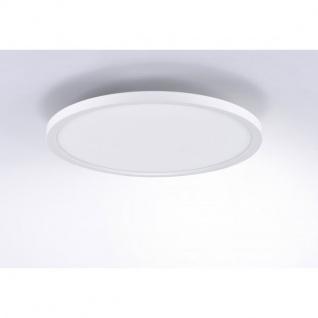 Q-Flat Ø60cm LED Deckenleuchte 2700 - 5000K Weiss - Vorschau 3