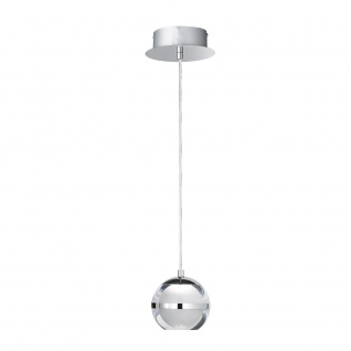 Wofi Fulton LED Pendelleuchte 1-flammig Chrom 6740.01.01.0000
