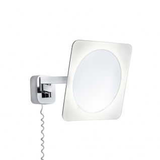 Paulmann WallCeiling Bela Kosmetikspiegel IP44 LED 5, 7W Chrom/Weiß/Spiegel 230V Metall/Acryl