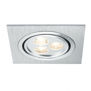 Paulmann Premium EBL Aria eckig schwb. LED 1x3W 350mA 92x92mm Alu geb. Chr. matt - Vorschau 2