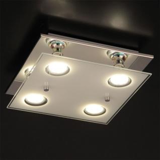 Arborio LED Deckenleuchte 4-flammig 4 x 200lm chrom Deckenlampe