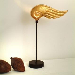 Holländer 300 K 12153 Tischleuchte Piccola Hermes Eisen Braun-Schwarz-Gold