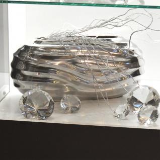 s.HOME Dash XL Design Vase Alu Dekoration Blumenvase