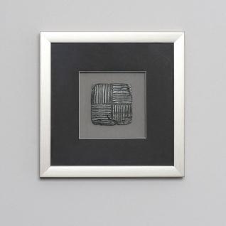 Holländer 306 3132 S Wandbild Risultato 2 Holz-Glas-Kunststein Silber-Schwarz