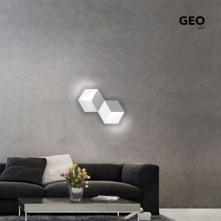 Grossmann 72-779-072 Geo LED-Deckenleuchte 2-flammig 53 x 30cm Alu-matt