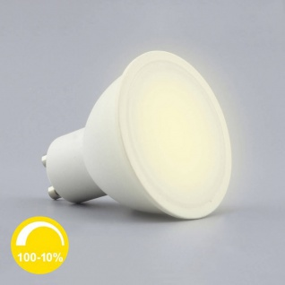 GU10 Power SMD LED Dimmbar Warmweiss 120° 470lm 5W LED Leuchtmittel Spot
