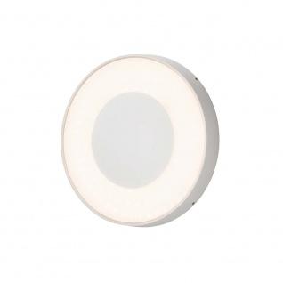 Konstsmide 7985-250 Carrara LED Aussen-Wand- & Deckenleuchte Dimmbar 3000-5000K Weiß opales Acrylglas