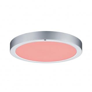 Paulmann WallCeiling Orbit LED-Panel RGBW 300mm 15W 230V Chrom matt Weiß Kst
