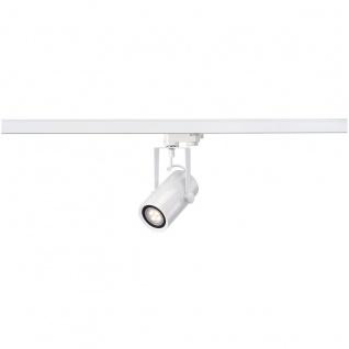 SLV 153951 EuroSpot Integrated LED Spot für 3-Phasen-Hochvolt-Stromschiene Weiss