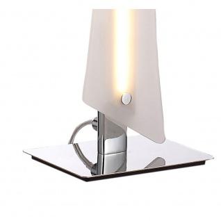 LeuchtenDirekt 11461-17 Antonia LED Tischleuchte + Schnurrschalter 10, 80W 3000K Chrom - Vorschau 2