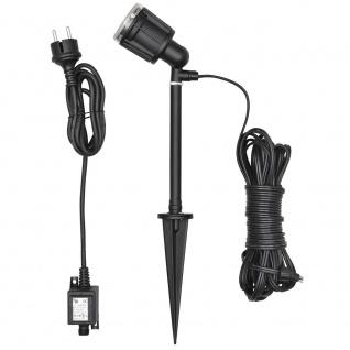 Konstsmide 7645-000 Amalfi LED Erdspießleuchte 1-flg. 12V Schwarz