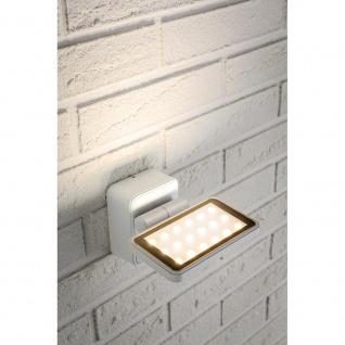 Paulmann Special ABL Set IP44 Board LED 1x6, 8W 230V Weiß matt/Alu gebürstet Alu