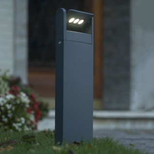 Lutec LED Spot einstellbare Wegeleuchte 52, 6cm IP65 Anthrazit
